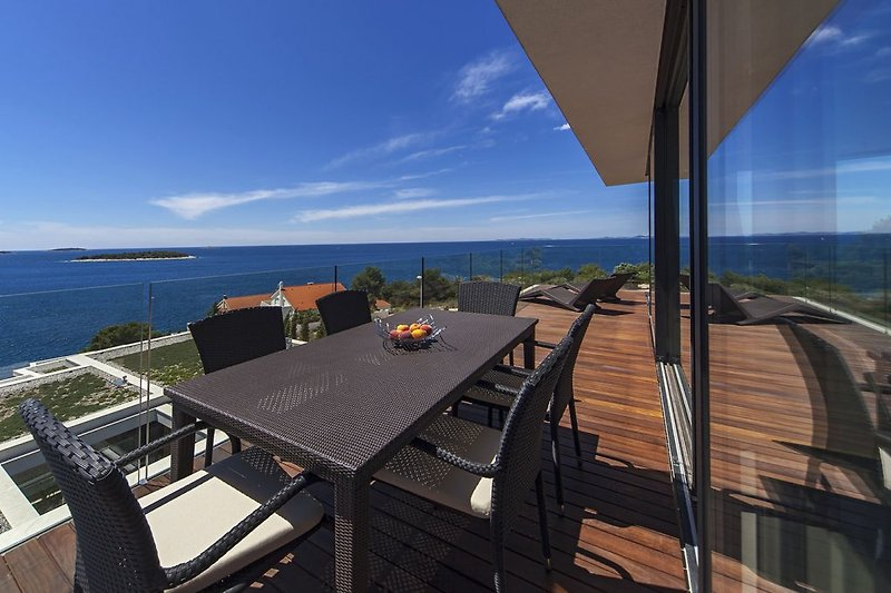View from penthouse balcony