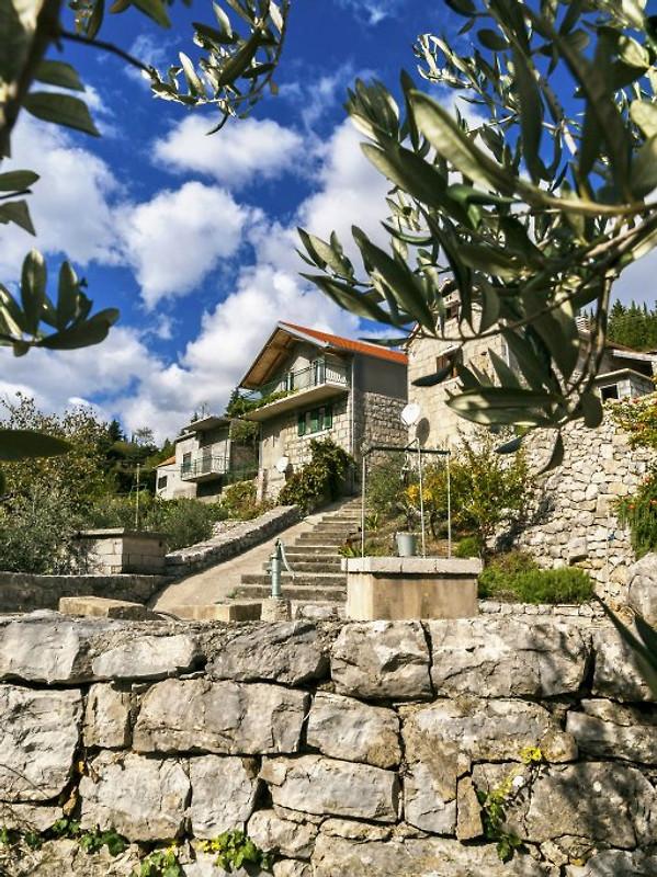 Die mediterranische Oase - Ferienhaus in Omis Riviera mieten