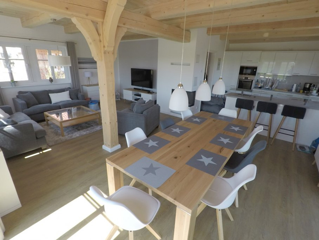 landhaus am meer gro schwansee ferienhaus in gro. Black Bedroom Furniture Sets. Home Design Ideas