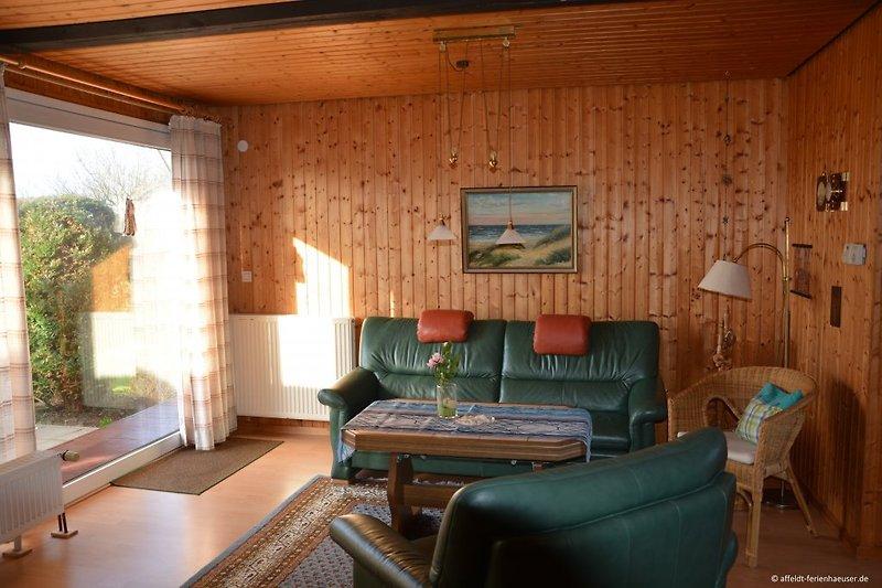 Deichweghaus, Wohnzimmer