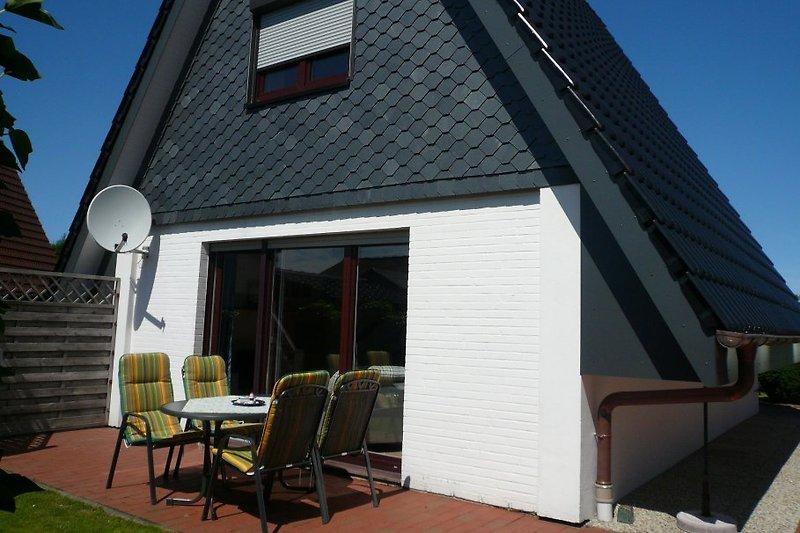 Seeschwalbenhaus, Terrasse