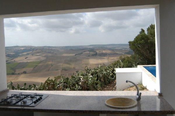 Ausblick aus der Sommerküche