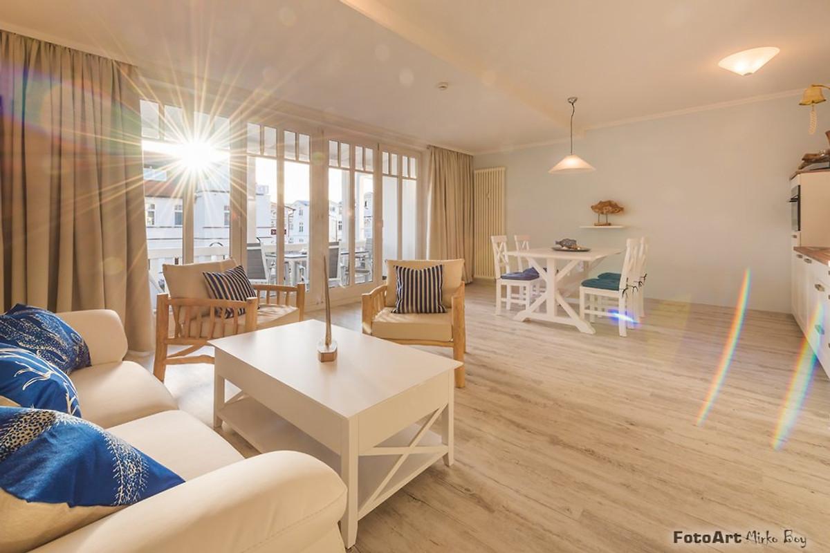 white pearl binz ferienwohnung in binz mieten. Black Bedroom Furniture Sets. Home Design Ideas
