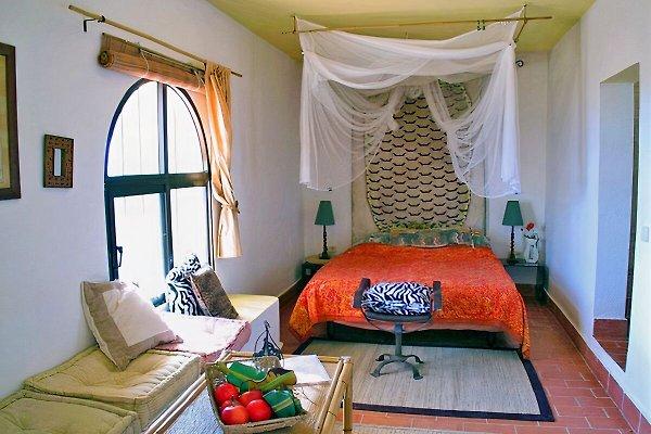 Wohn- Schlafbereich des Studios der Casa Fortunata