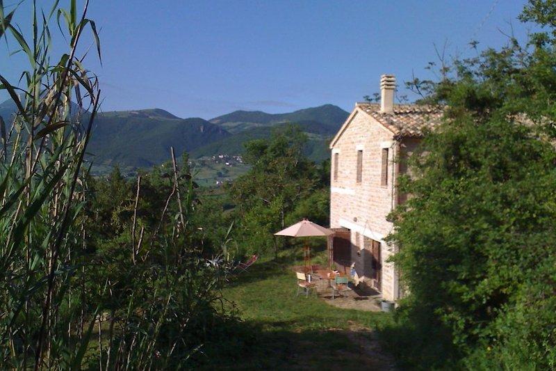 Die Casa Sibillina, eine Oase der Ruhe