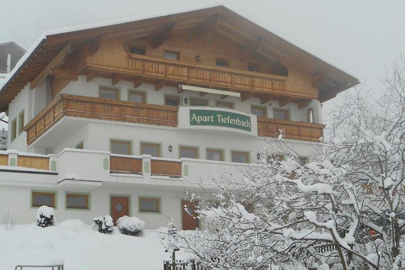 Apart Tiefenbach im Winter