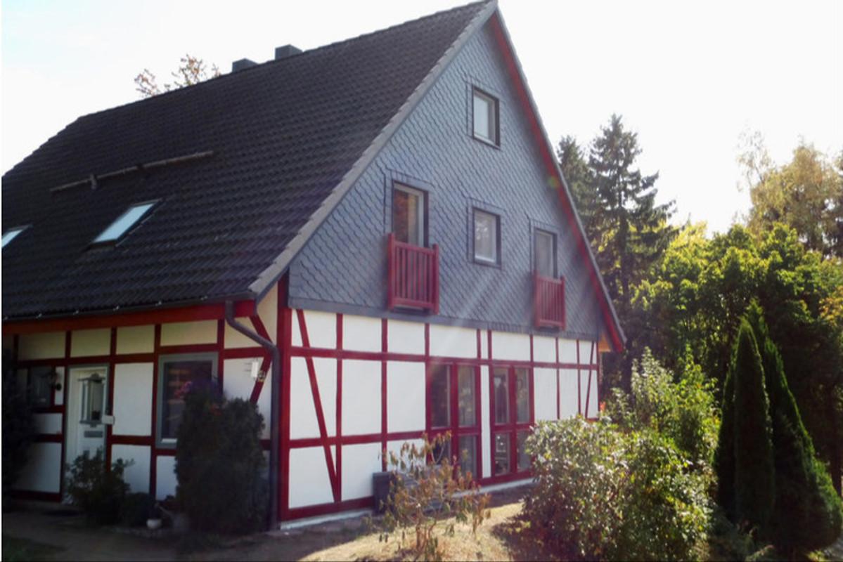 Ferienhaus Harz Mit Herz Haus 3 In Hohegeiss Frau A Ballin