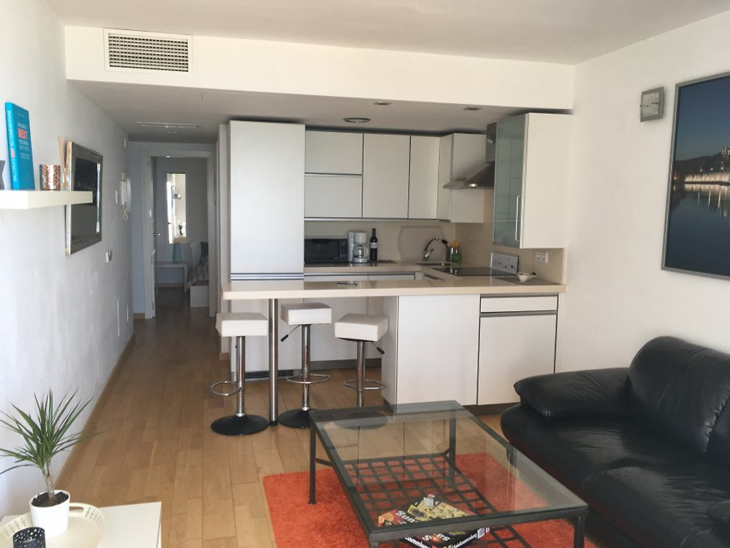 apartment mit meerblick mallorca ferienwohnung in can pastilla mieten. Black Bedroom Furniture Sets. Home Design Ideas