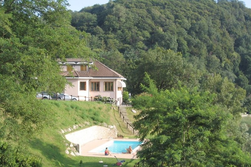 Anlage Le Foranci mit Pool