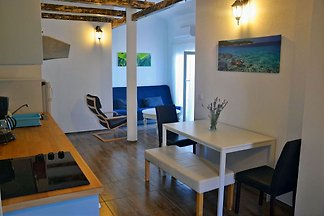 2 spacious 4 * Apartments (50 m²) with air in the cozy Still on the 1st floor.