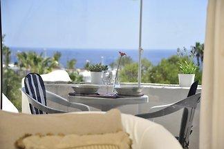 Elegante, moderne Ferienwohnung mit Meerblick, sehr strandnah viel Meerblick