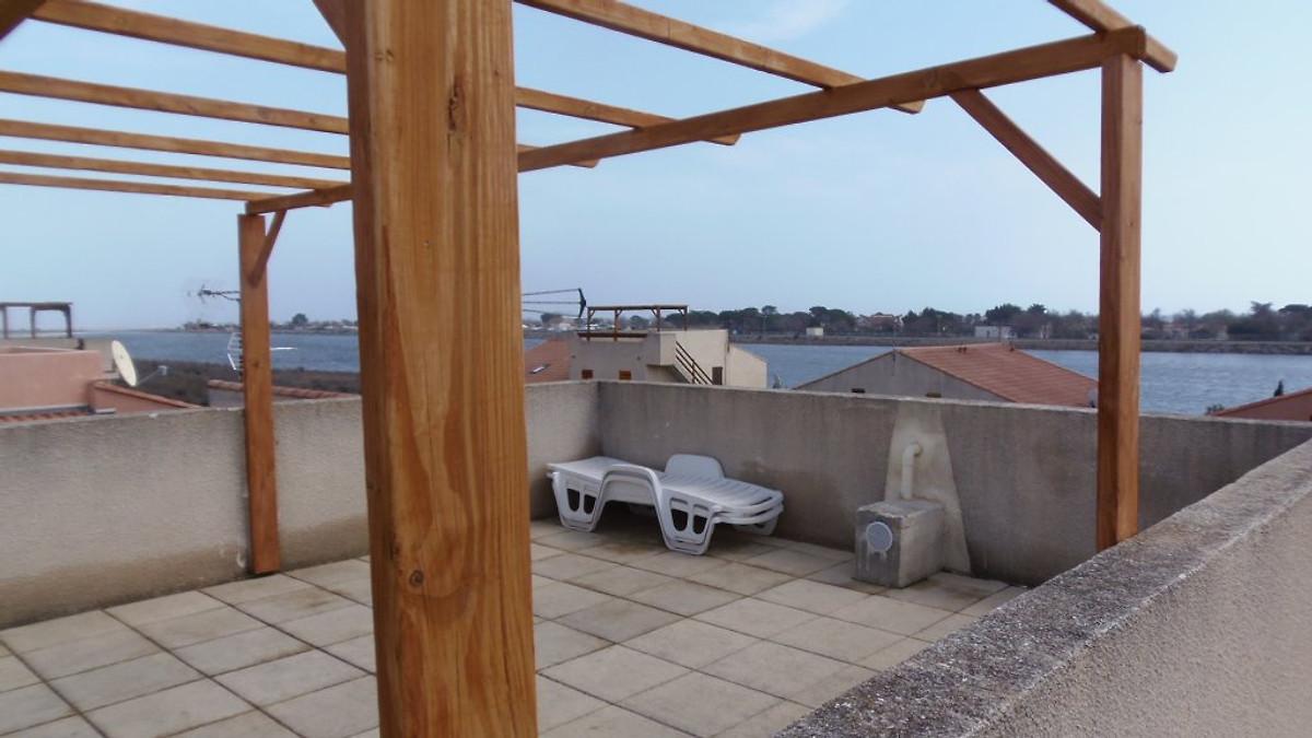 Terrazza sul tetto casa gruissan casa vacanze in gruissan affittare - Terrazza sul tetto ...
