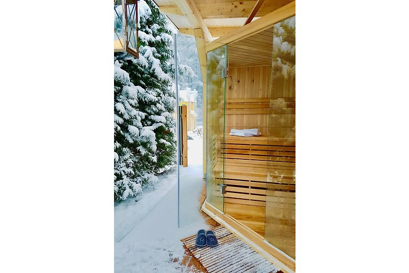 Externe SAUNA Winter 2019