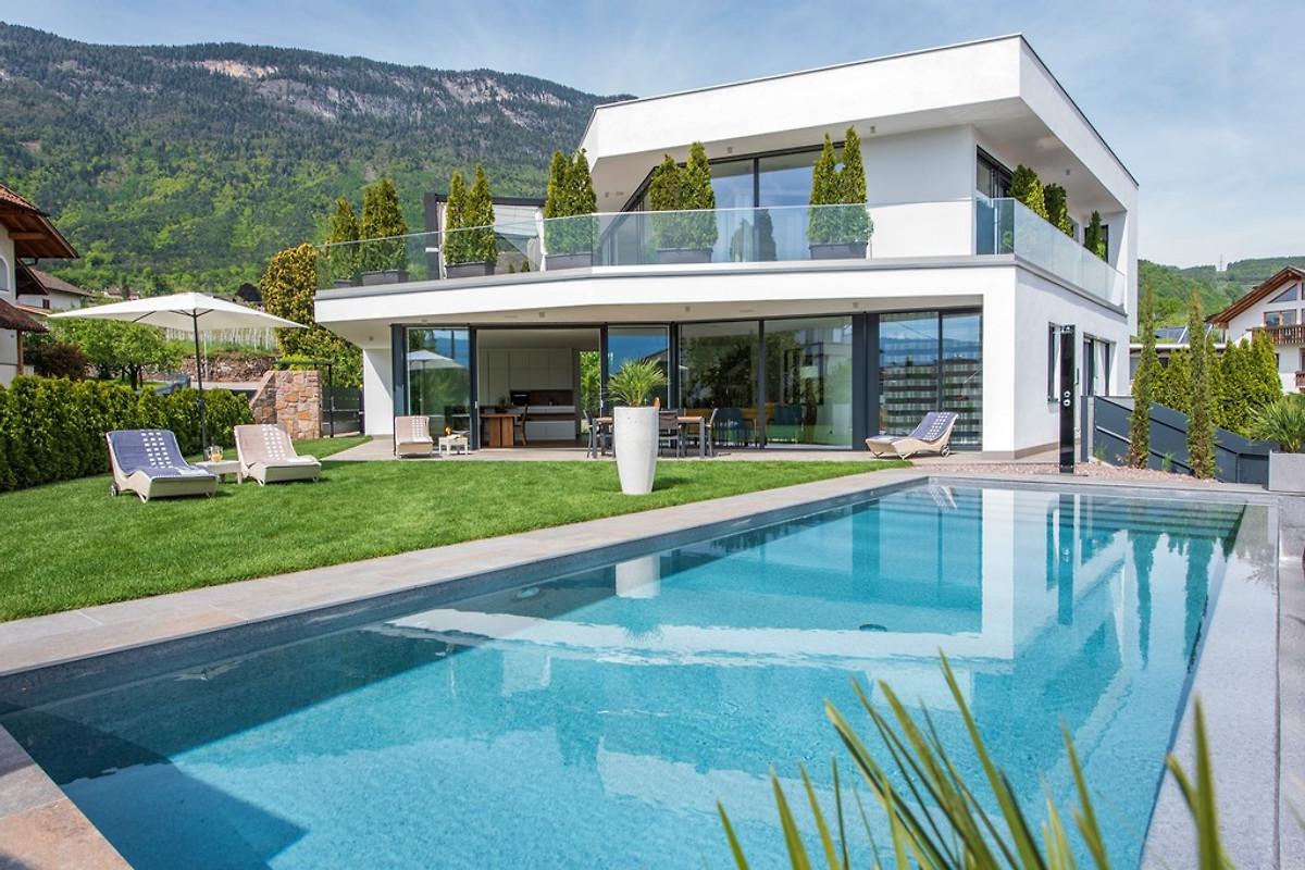 architektenvilla  villa aich  eppan familie