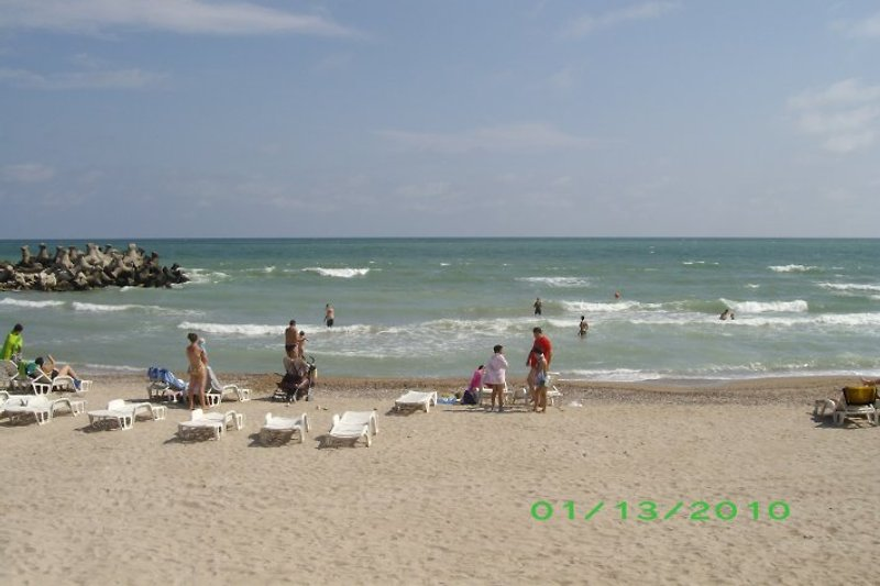 Beach in Olimp