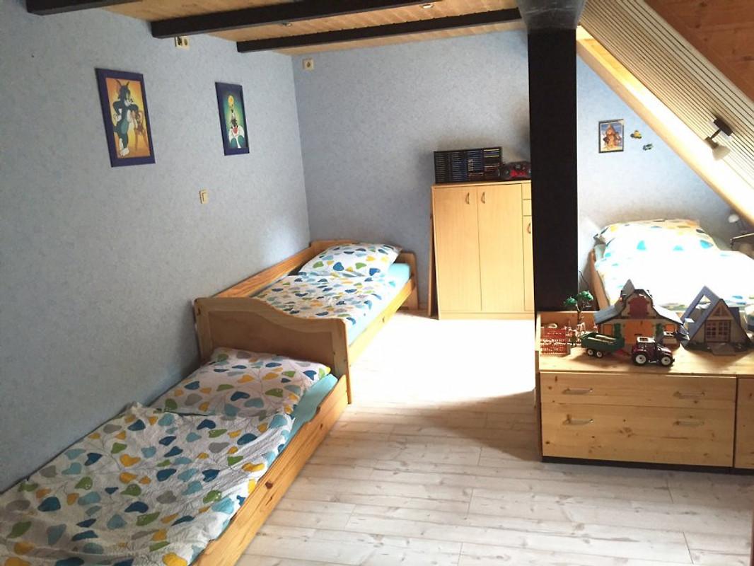 Ferienwohnung ivenack dachgeschoss ferienwohnung in for Kinderzimmer 1 jahr