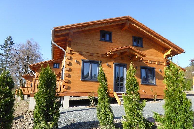 panorama h tte mit sauna und kamin ferienhaus in. Black Bedroom Furniture Sets. Home Design Ideas