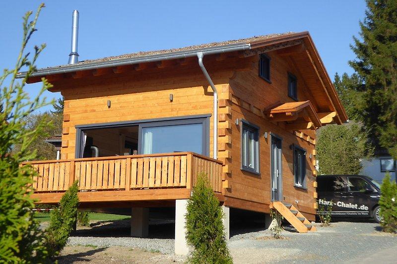 romantik h tte mit sauna und kamin ferienhaus in hahnenklee mieten. Black Bedroom Furniture Sets. Home Design Ideas