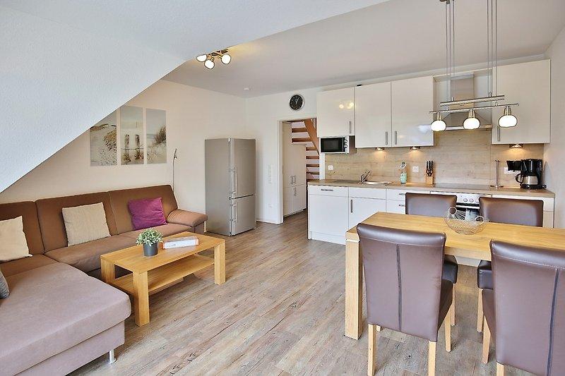 Wohnung 7 im Haus Das gelbe vom Grooten Steen 14 in Cuxhaven Duhnen