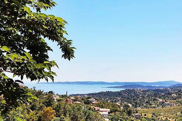 Atemberaubender Ausblick auf den Golf von Saint Tropez.