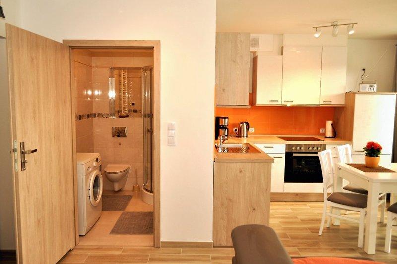 Badezimmer + Küche