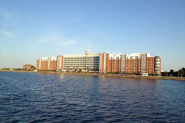 Blick vom Binnenhafen