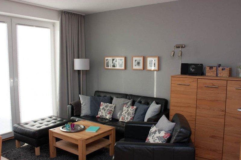 Gemütlich entspannen in einer geschmackvoll eingerichteten Wohnung