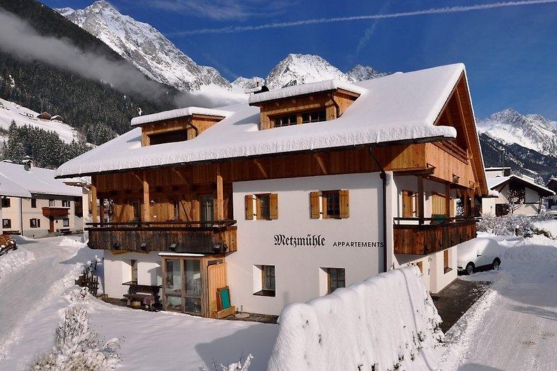 Metzmühle im Winter