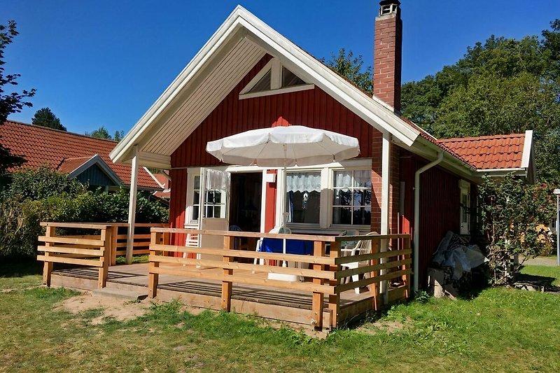 Schwedenhaus am Krakower See