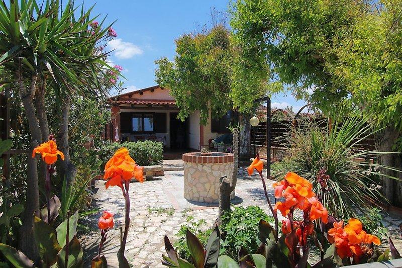 Villa Flora - SEAFRONT mit SEAVIEW in Campofelice di Roccella - Bild 2