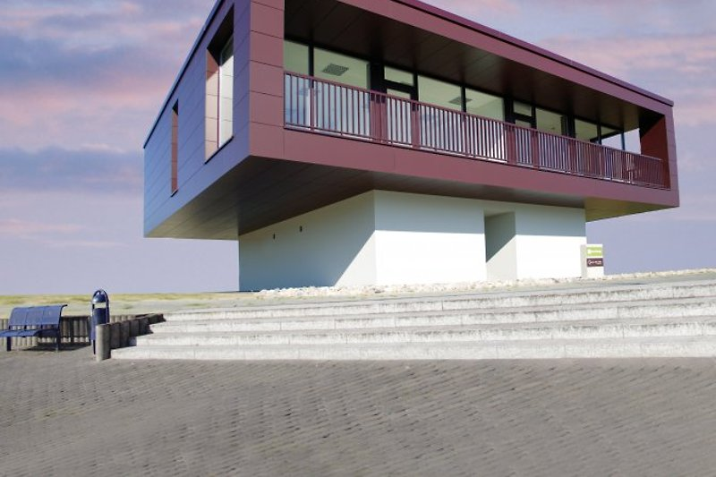 individuelle Architektur mit maritimem Ambiente