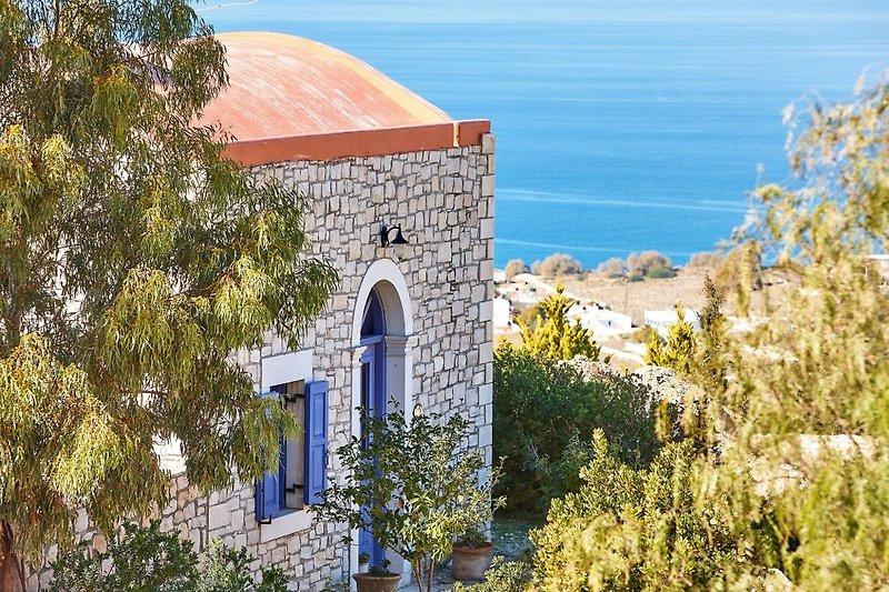 Orelia Cretan Villas - Blick aufs Mittelmeer