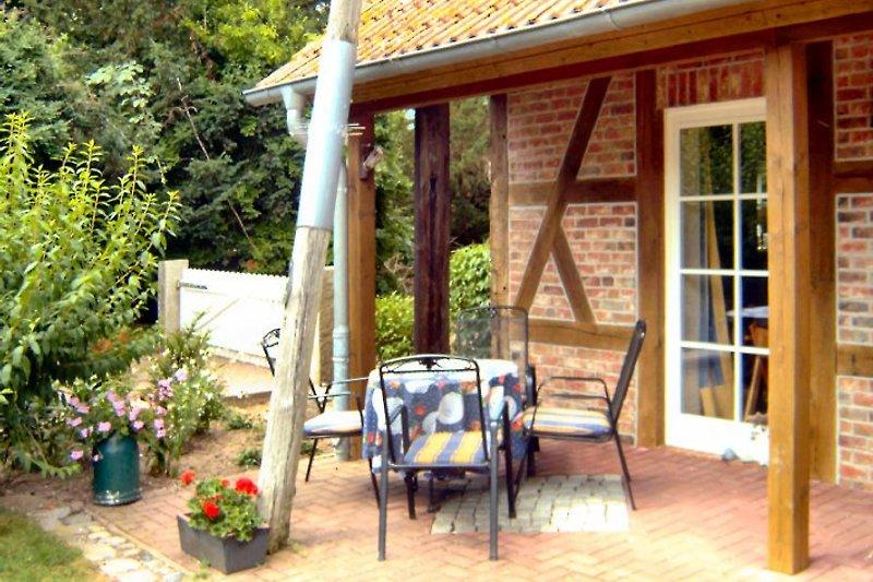Die Terrasse Ihrer Ferienwohnung