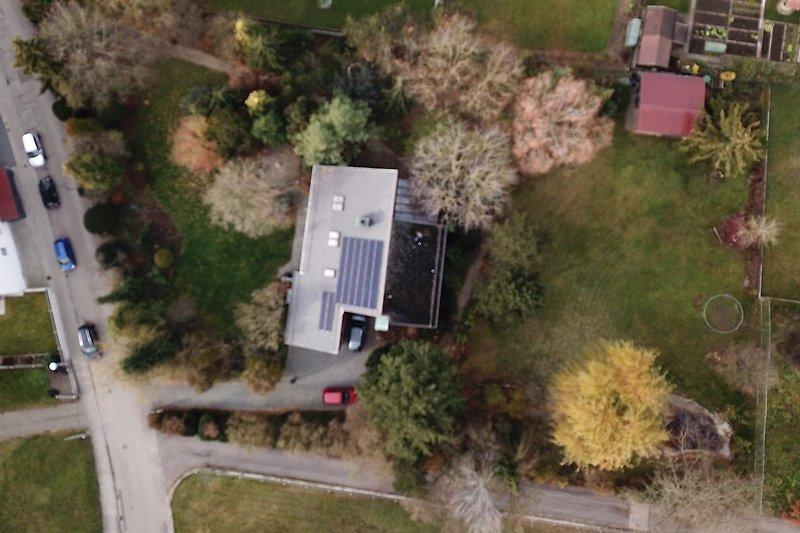 3600 m² von oben