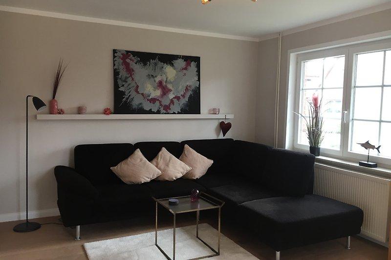Wohnzimmer m. W-Lan TV