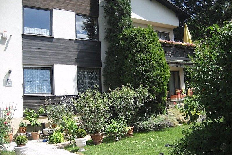 Haus Gartenansicht