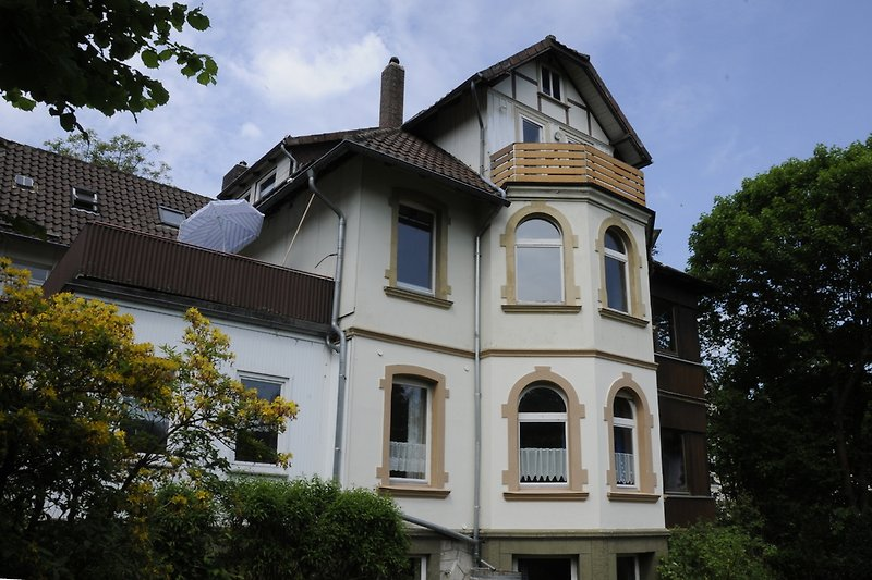 Villa Haus Hoheneck im Sommer