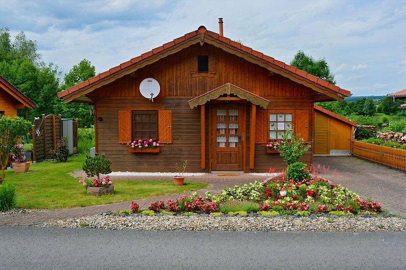 Ferienhaus von vorne