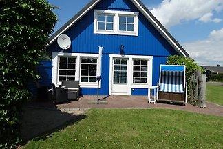 Blaues Haus am Nordseedeich, Kamin,