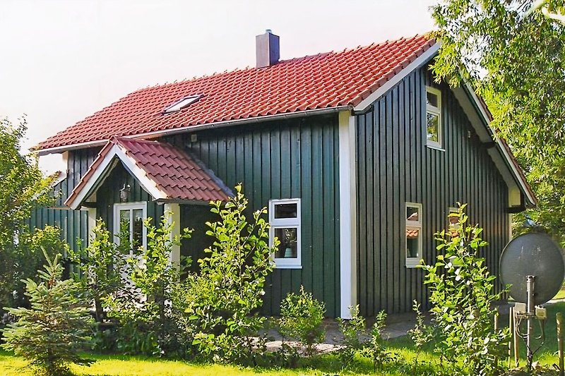 Grünes Sommerhaus