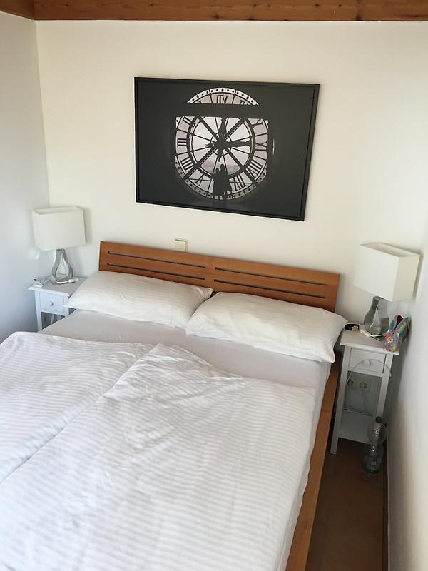 Hinteres Schlafzimmer Mit 1 Doppelbett