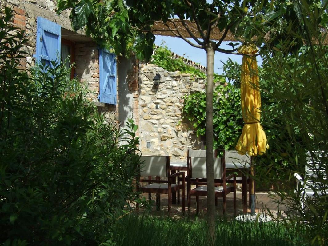 Mas chataigner la jaune vakantiehuis in st julien cassagnas huren - Uitbreiding stenen huis ...