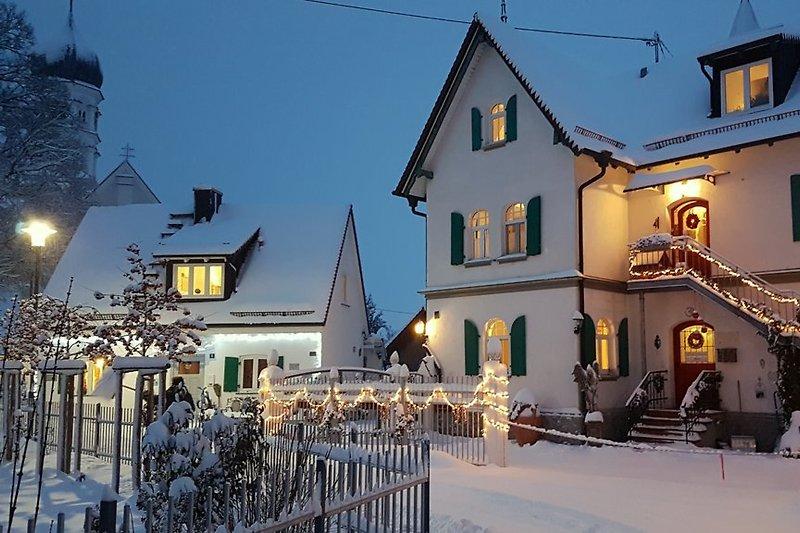 Ferienhaus Villa Himmelsberg - Winter