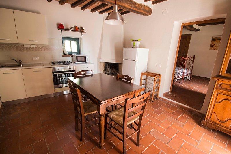 Wohnzimmer/Küchenzeile