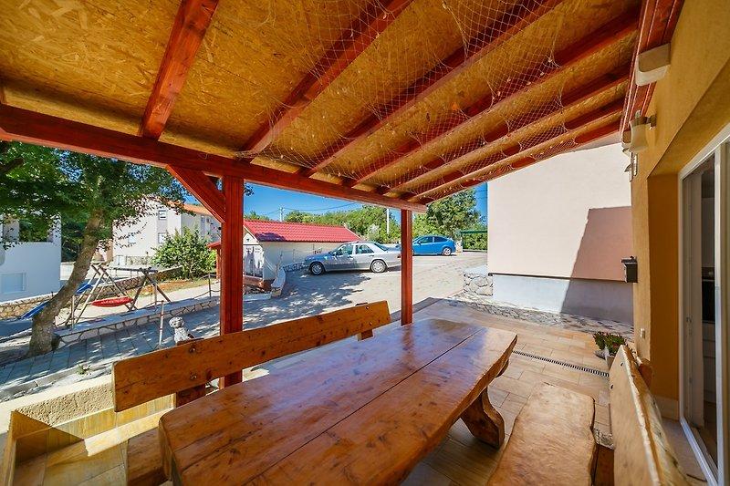 Terrasse Wohnung 1 Mit Park-blick