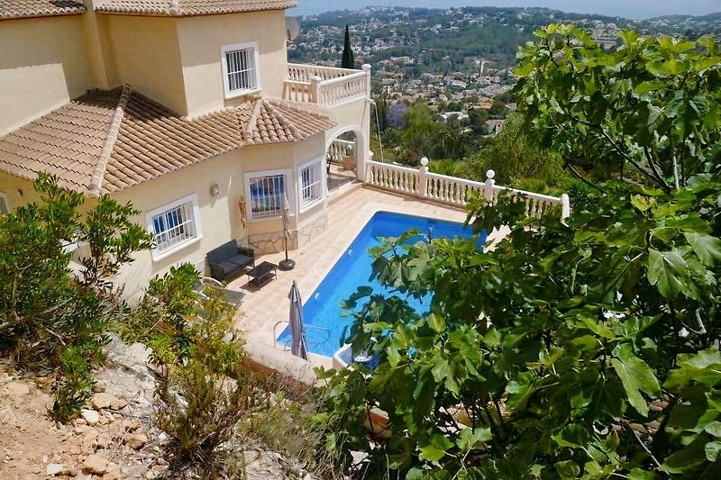 Villa Miraflores - Panoramic seaview, private pool, free internet