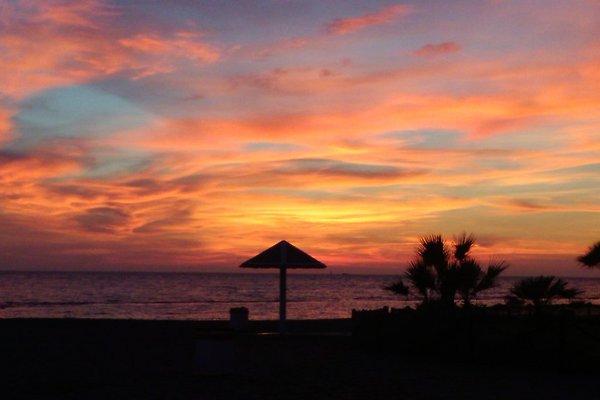 Sunset in Ostia