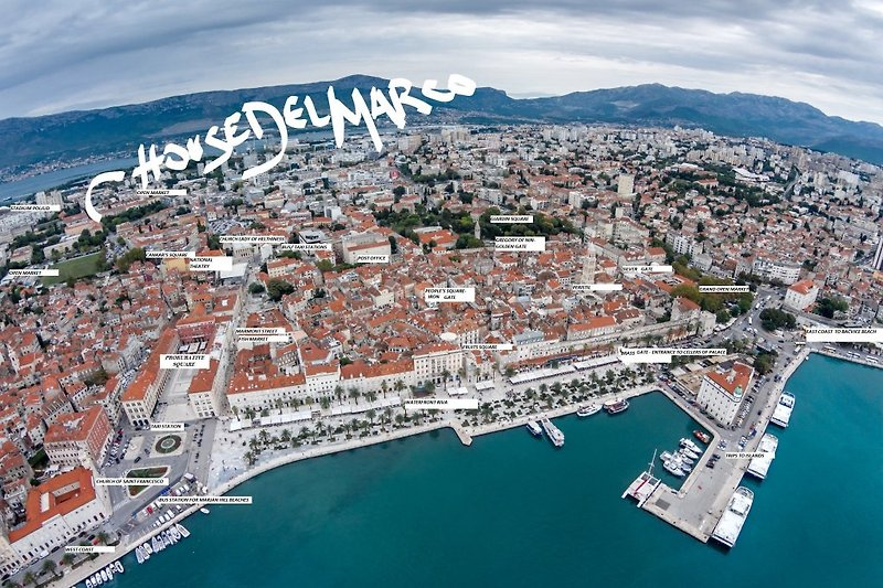 Maison Delmarco - ENORME app 4 * à Split - Image 2