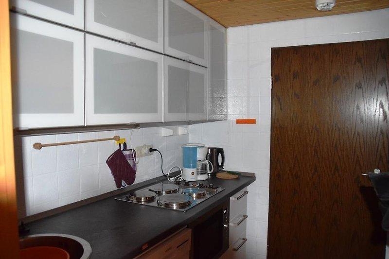 Die neu-renovierte Küche