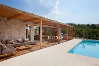 Design Villa Olea on island Krk